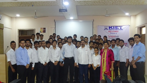 Campus placement Drive by SynapseIndia was conducted in ‪‎KIET‬