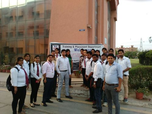 Campus placement Drive by SynapseIndia was conducted in Haryana College of Technology and Management