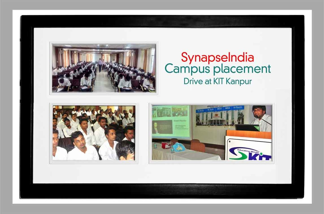 SynapseIndia Campus Recruitment Drive in KIT College